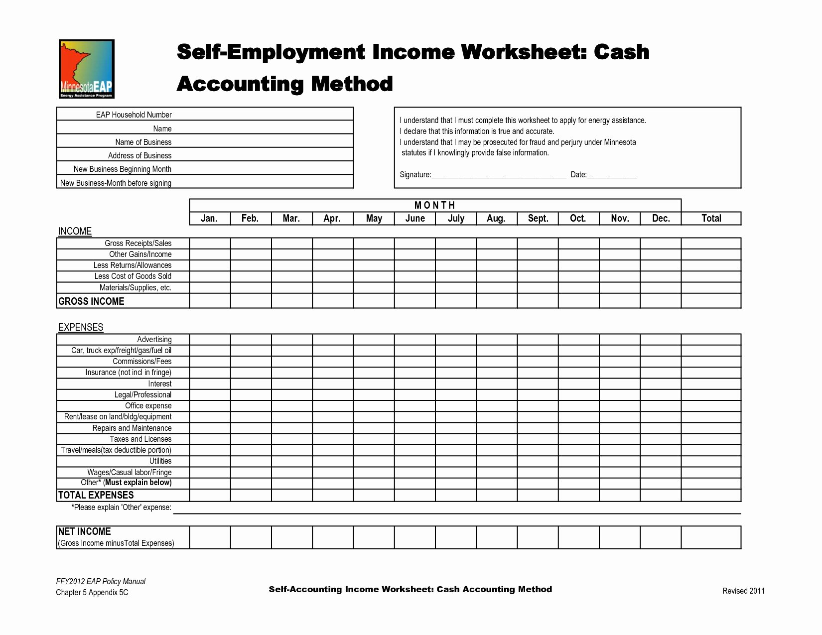 Self Employment Ledger Template Excel Luxury Self Employment Ledger Template