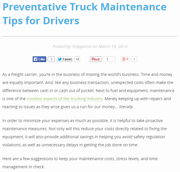 Semi Truck Maintenance Schedule Unique for Drivers and Trucking Businessmen Maintenance Tips for