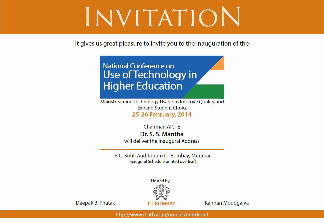 Seminar Invitation Templates Unique Design