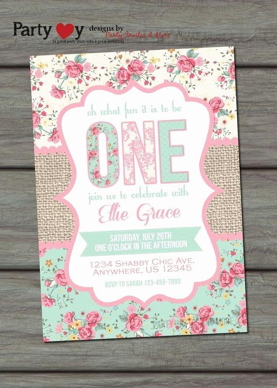 Shabby Chic Birthday Invitations Luxury 25 Best Ideas About Shabby Chic Invitations On Pinterest