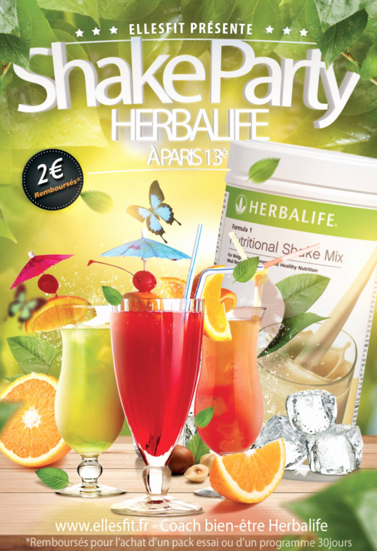 Shake Party Herbalife Lovely Billetterie Shake Party Herbalife Ellesfit