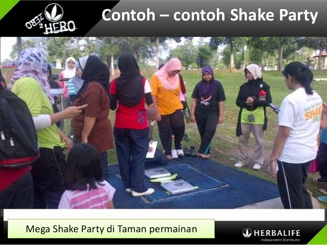 Shake Party Herbalife Unique 6 1 Panel Coi Shake Party Maryam