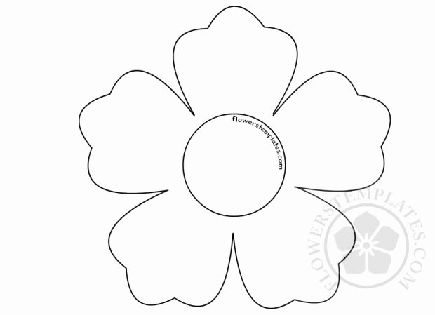 Shape Templates to Cut Out Awesome Printable Flower Shape Cut Out
