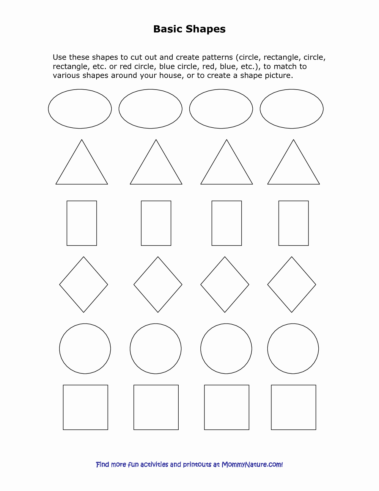 Shape Templates to Cut Out Elegant Best S Of Circle Shape Templates to Cut Out