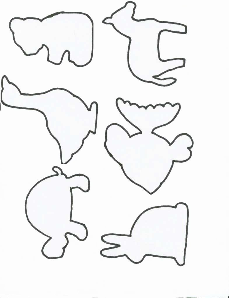 Shape Templates to Cut Out Lovely Animal Drawing Templates at Getdrawings