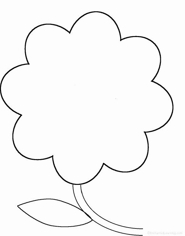 Shape Templates to Cut Out Lovely Free Blank Flower Template Download Free Clip Art Free