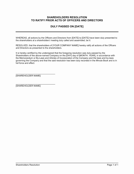 Shareholder Letter Template Best Of 28 Of Template Resolution to Dissolve Llc