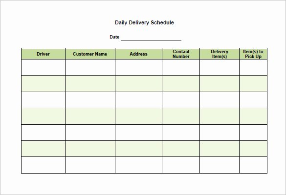 Shipping Manifest Template Excel Best Of School Scheduling Templates