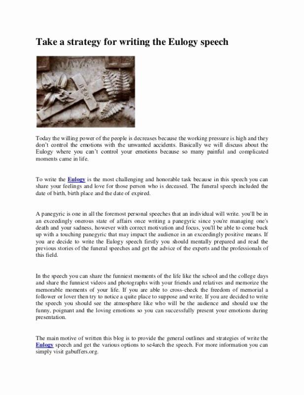 Short Obituary Examples Luxury Examples Eulogies