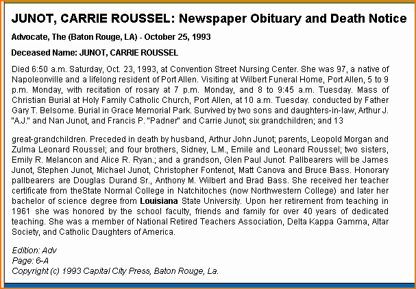 Short Obituary Examples Luxury How to Write An Obituary Notice for A Newspaper