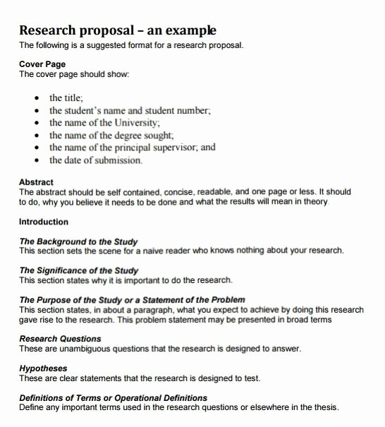 Short Proposal Example Elegant How to Write A Research Proposal with Examples at Kingessays©