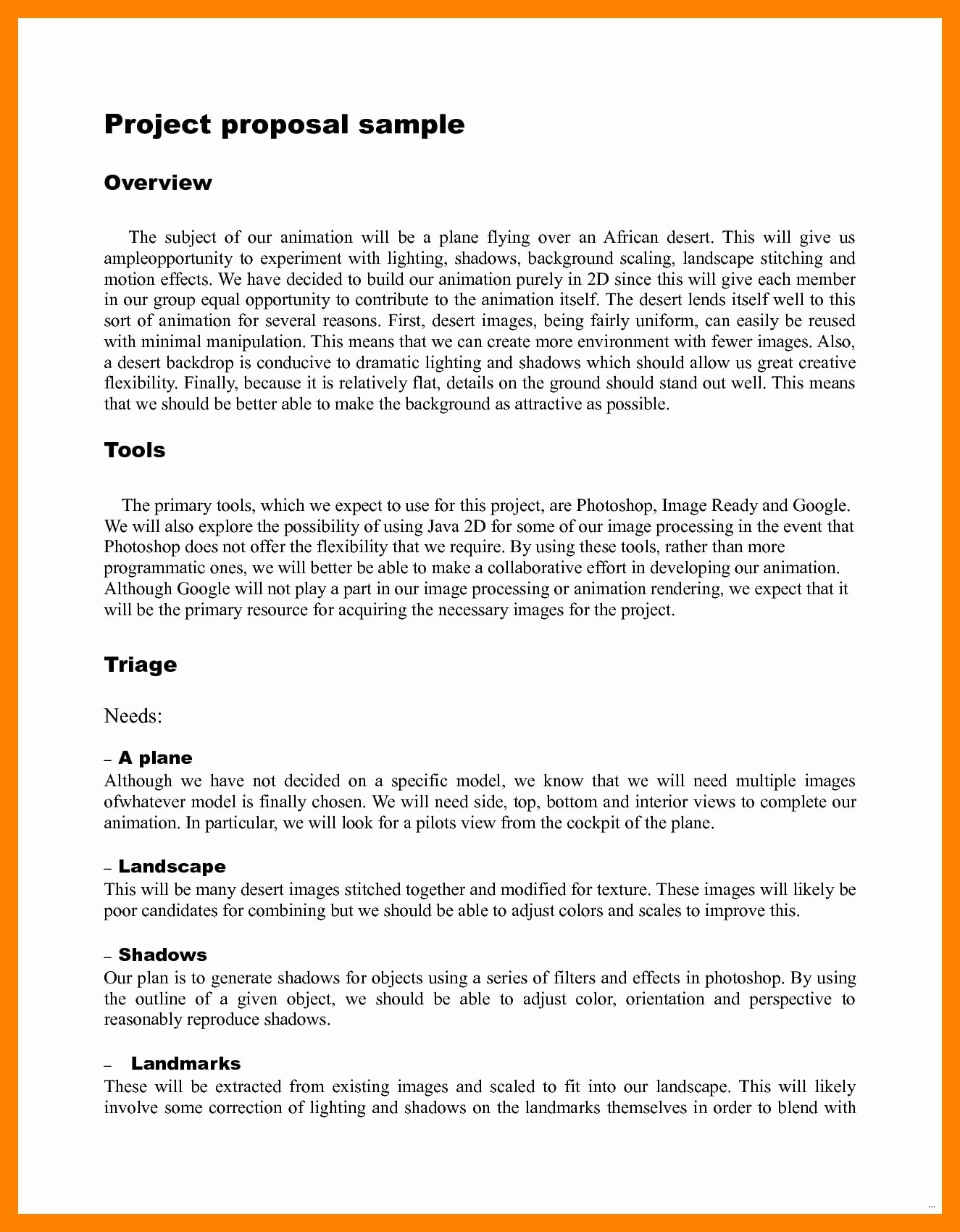 Short Proposal Example Lovely 9 Multimedia Project Proposal Examples Pdf