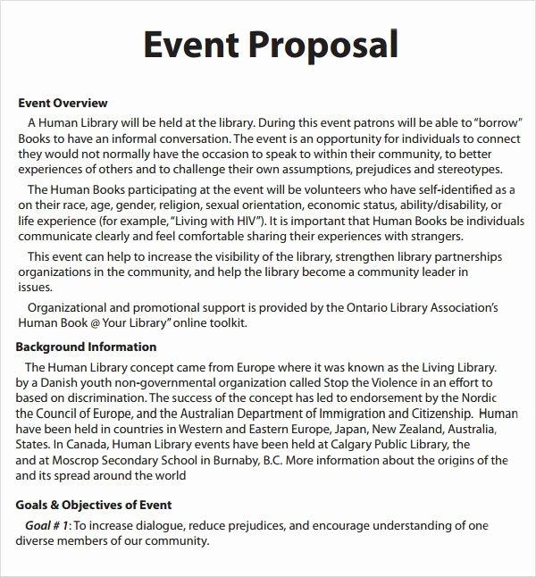 Short Proposal Example Unique 15 Exhibition Proposal Example