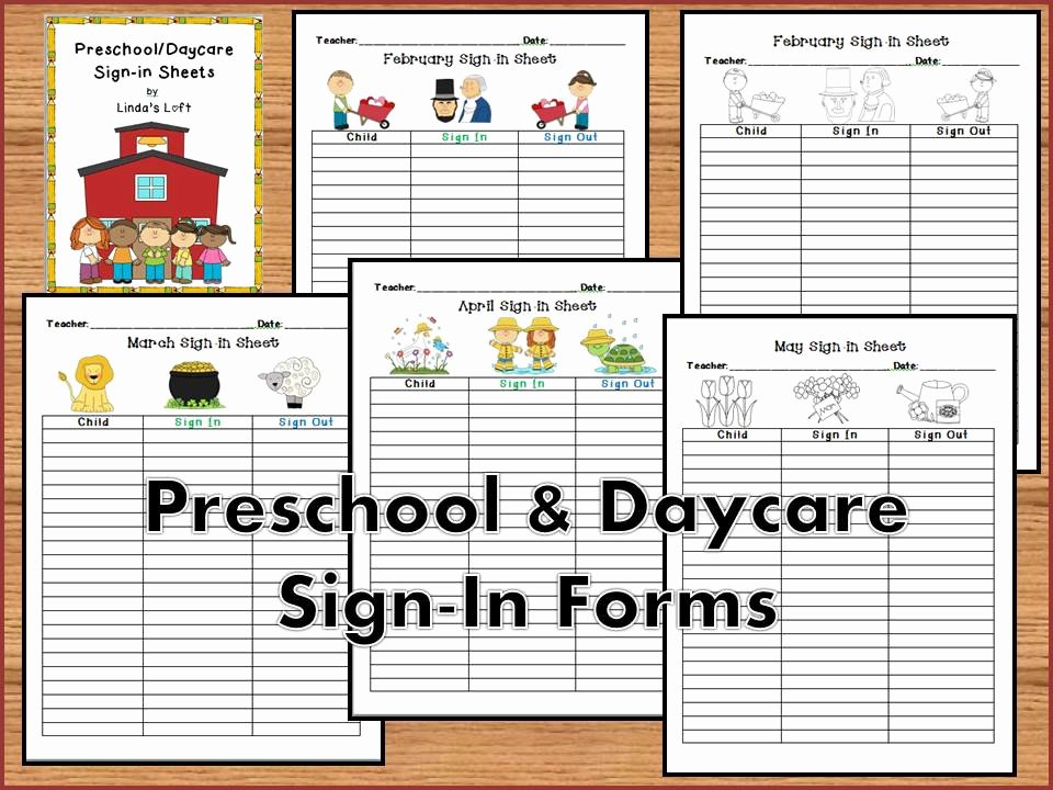 Sign In and Out Sheet for Daycare Awesome Student Sign In Sheet Clipart Clipground