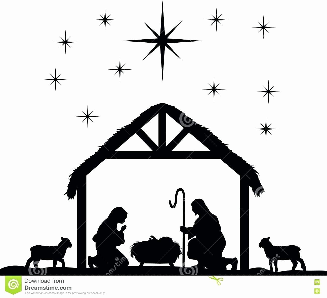 Silhouette Nativity Scene Pattern Best Of Silhouette Nativity Scene Pattern at Getdrawings