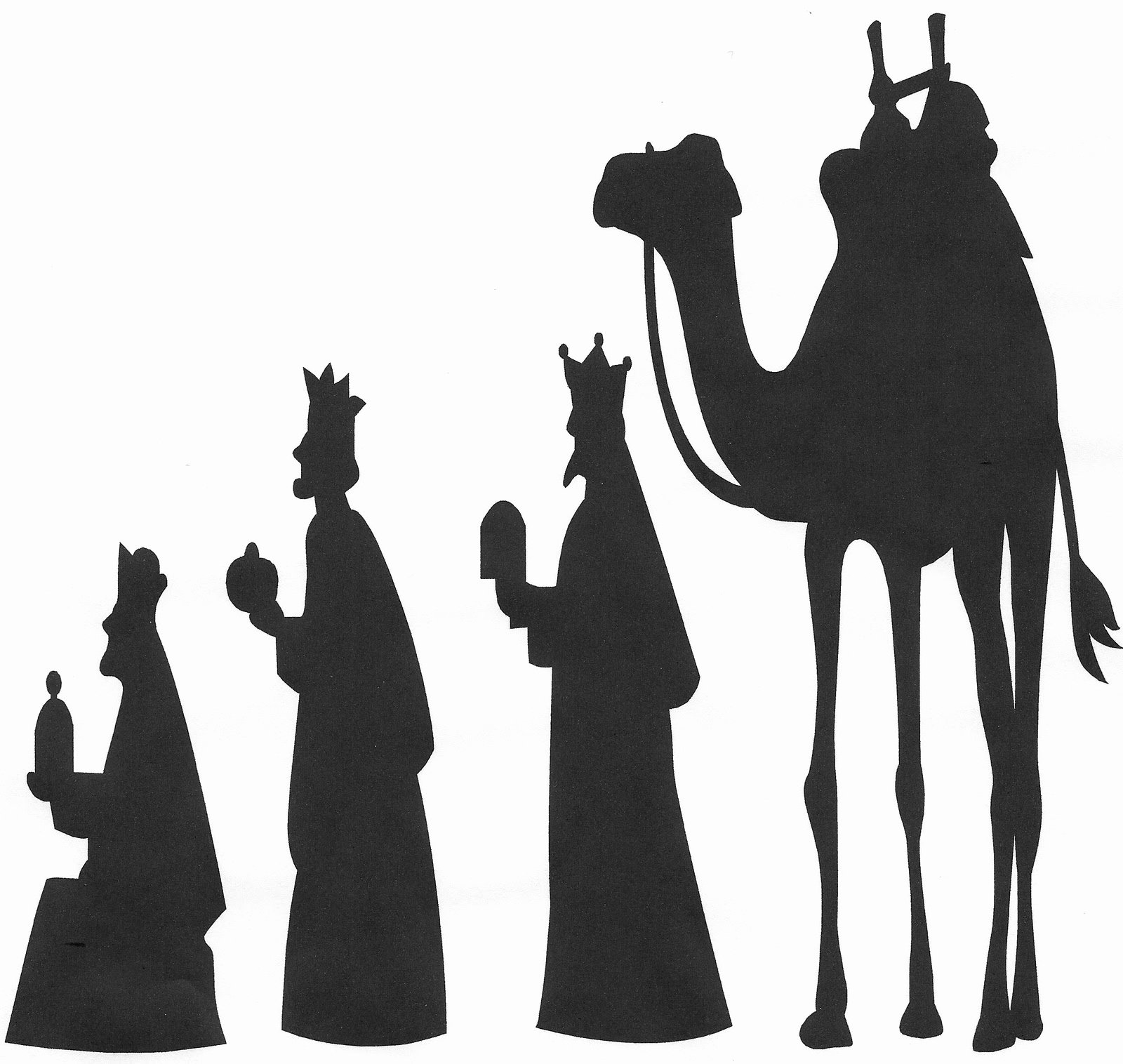 Silhouette Nativity Scene Pattern Inspirational 1000 Images About Advent Christmas and Epiphany at St