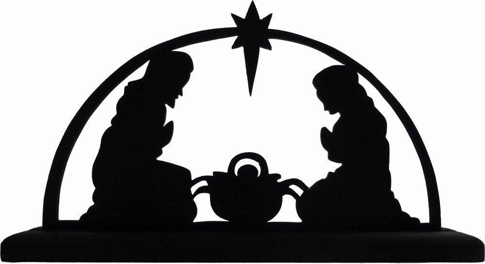 Silhouette Nativity Scene Pattern Inspirational Nativity Silhouette Patterns Cliparts