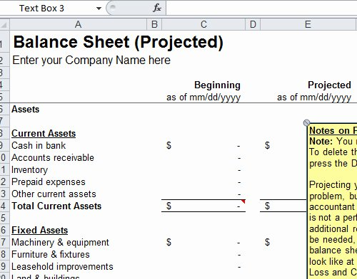 Simple Balance Sheet Template Excel Elegant Balance Sheet format Templates In Excel