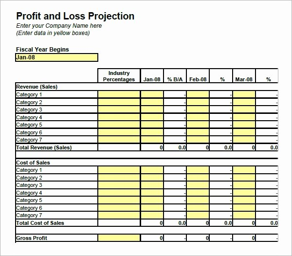 Simple Balance Sheet Template Excel Fresh 20 Sample Profit and Loss Templates Docs Pdf Apple