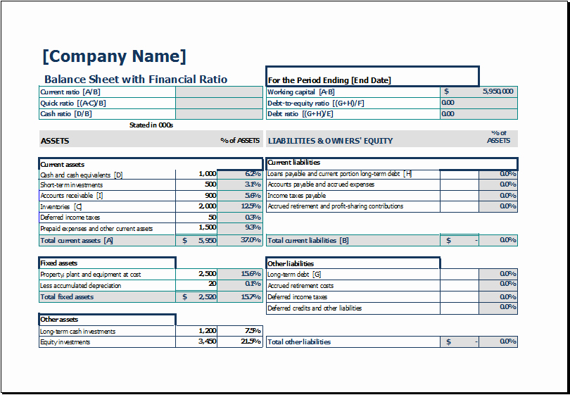 Simple Balance Sheet Template Excel Fresh Download Free Balance Sheet Templates In Excel Excel