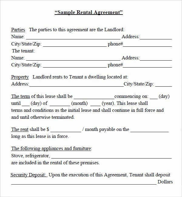 Simple Equipment Rental Agreement Template Free Unique Construction Equipment Purchase Agreement
