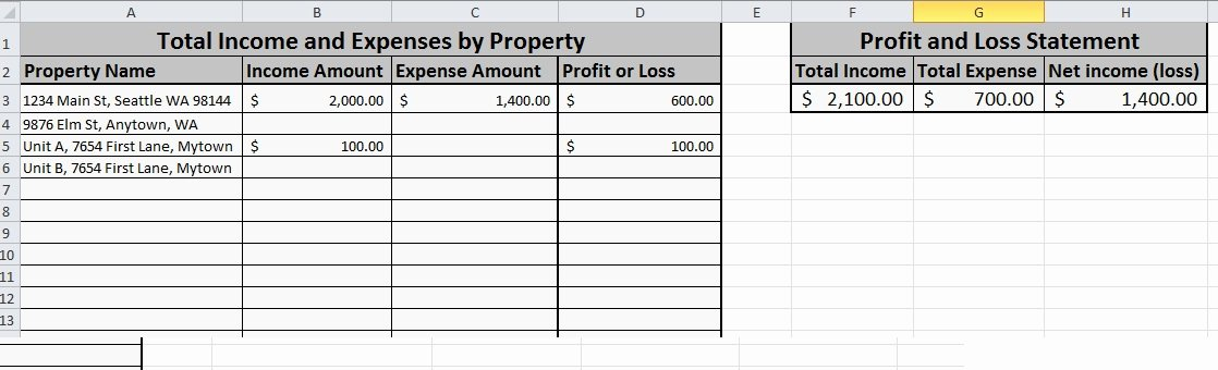Simple Income and Expense Template Lovely Free Expense Tracking Spreadsheet for Your Rentals – We've