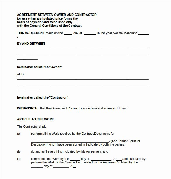 Simple Payment Agreement Template Between Two Parties Awesome Money Agreement Between Two Parties