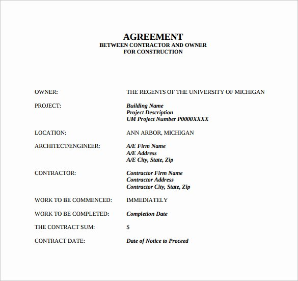Simple Payment Agreement Template Between Two Parties Unique 25 Professional Agreement format Examples Between Two