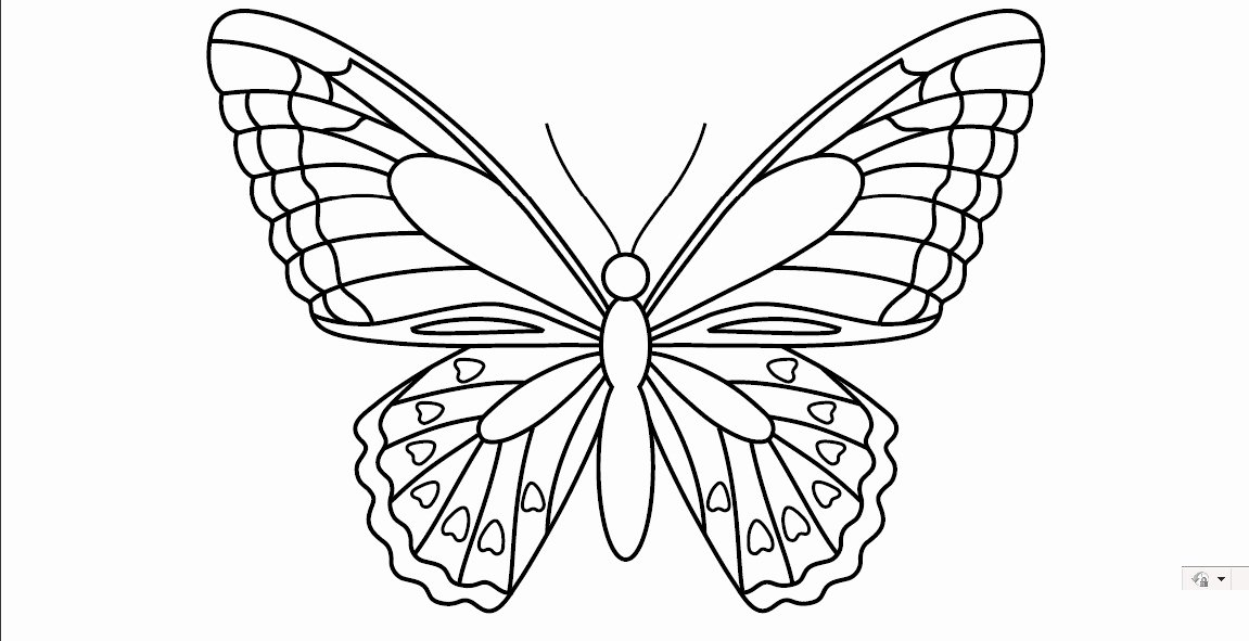 Small butterfly Template Fresh 7 Best Of butterfly Template Printable