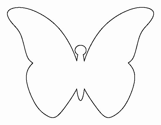Small butterfly Template Lovely Pin by Muse Printables On Printable Patterns at