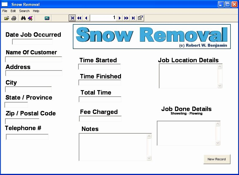 Snow Removal Bid Template Awesome Screenshot Snow Removal Snow Removal Snow Plowing