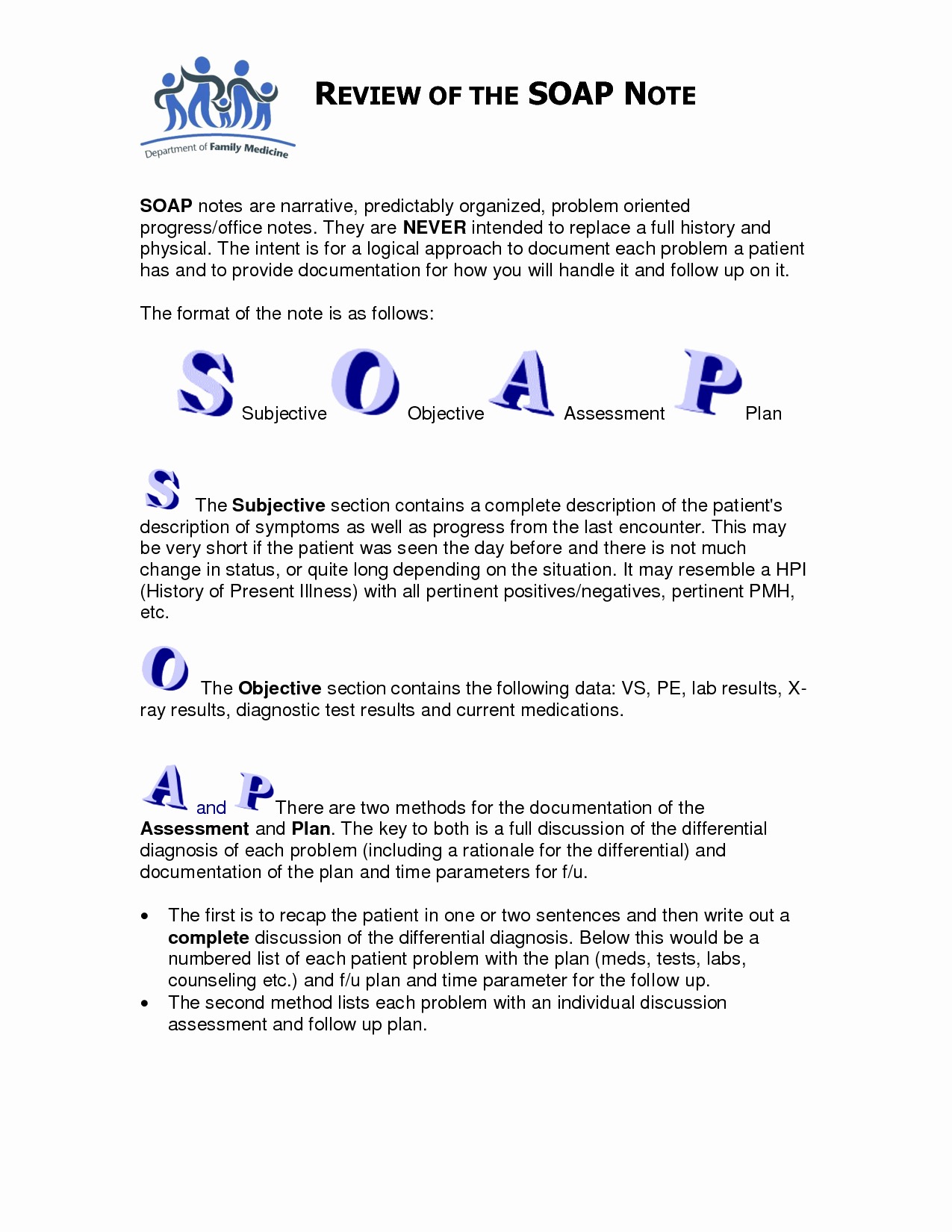 Soap Documentation Example Fresh soap Note Template Counseling Google Search