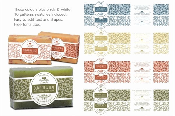Soap Template Word Lovely 22 soap Label Designs Psd Vector Eps Jpg Download