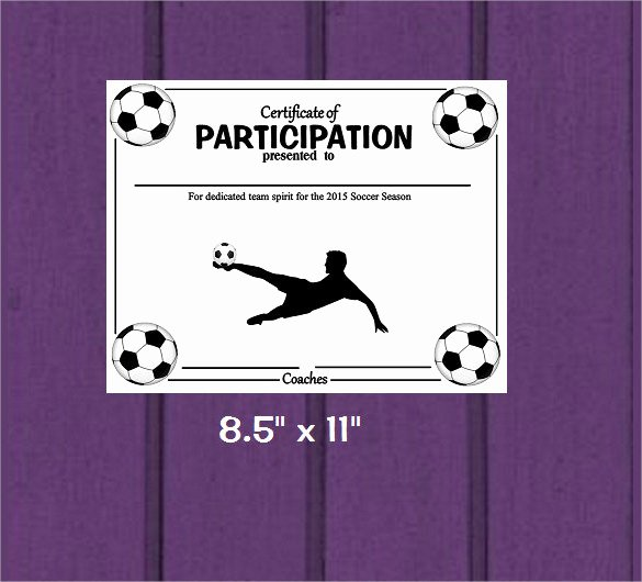 Soccer Awards Template Awesome 15 soccer Certificate Templates to Download