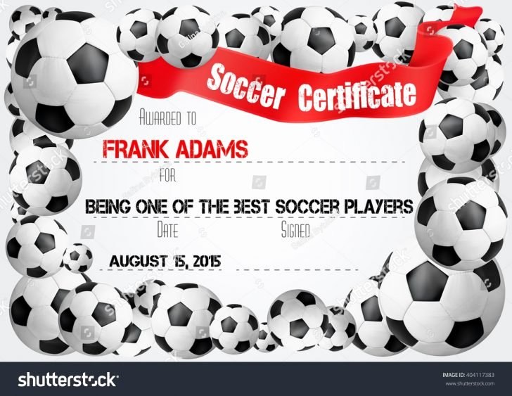 Soccer Awards Template New 15certificates Templates Word Resume format