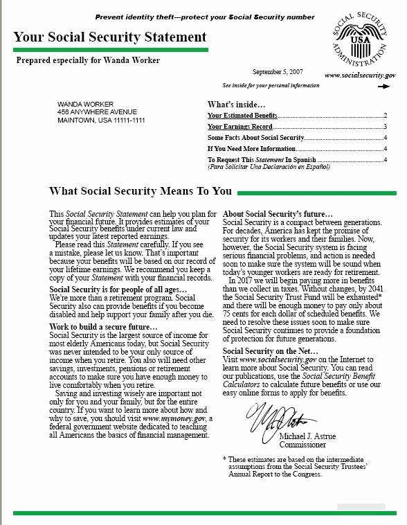 Social Security Award Letter Example New Award Letter for social Security