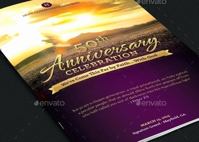 Souvenir Booklet Ad Template Awesome Church Anniversary Program Ads