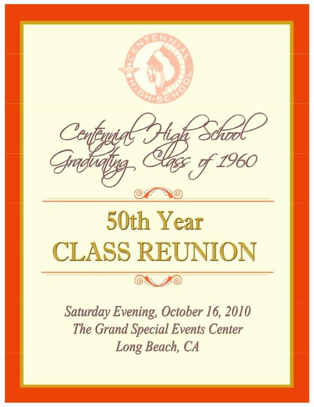 Souvenir Booklet Ad Template Best Of souvenir Book Centennial H S 50th Reunion