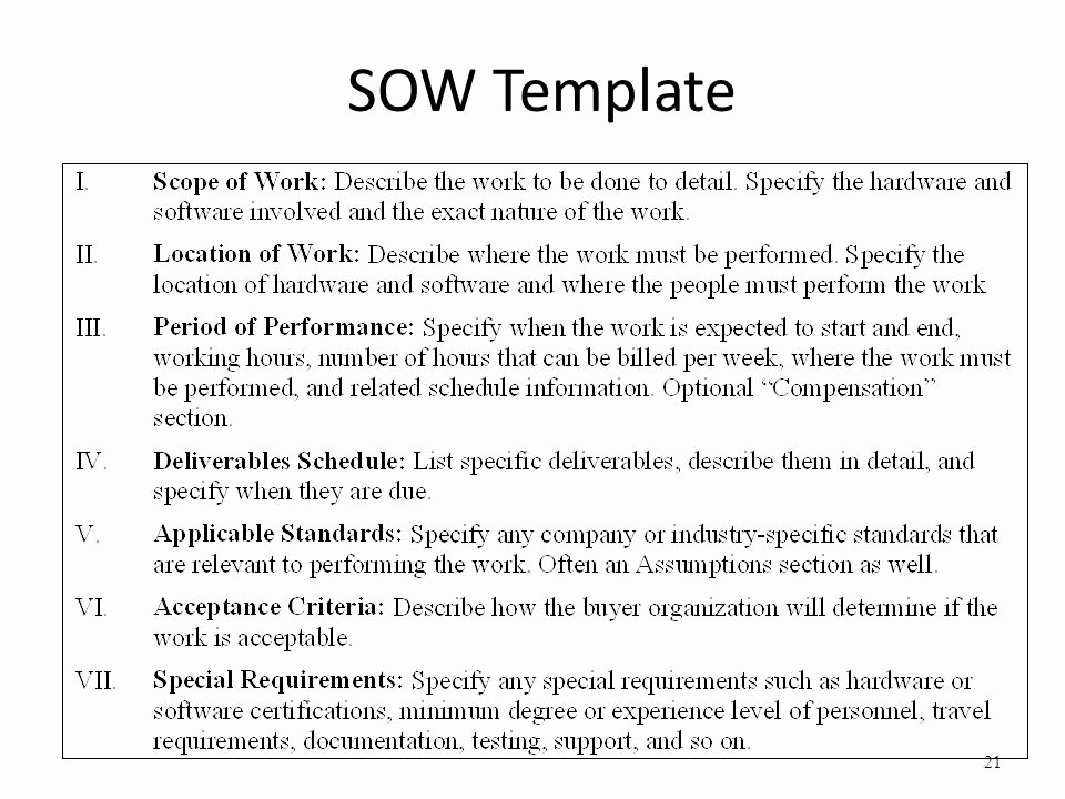 Sow Template Doc Best Of Project Management Lecture 5 6 Ms Saba Sahar Ppt