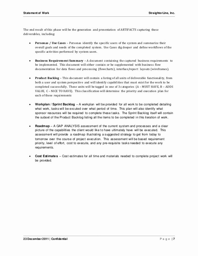 Sow Template Doc Best Of Writing A Statement Of Work Template Frudgereport954 Web