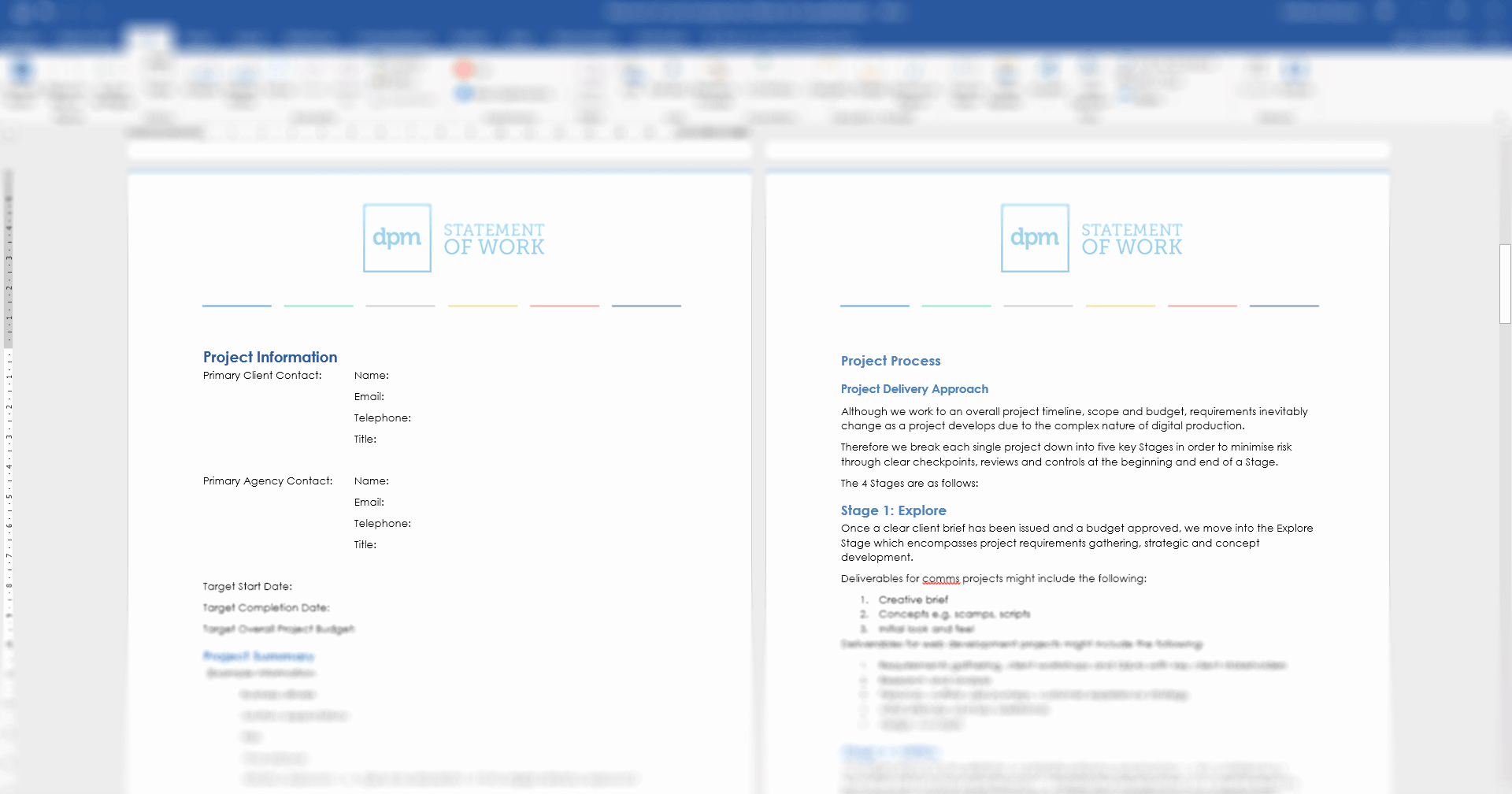 Sow Template Doc Fresh Write A Statement Work the Easy Way with A Free