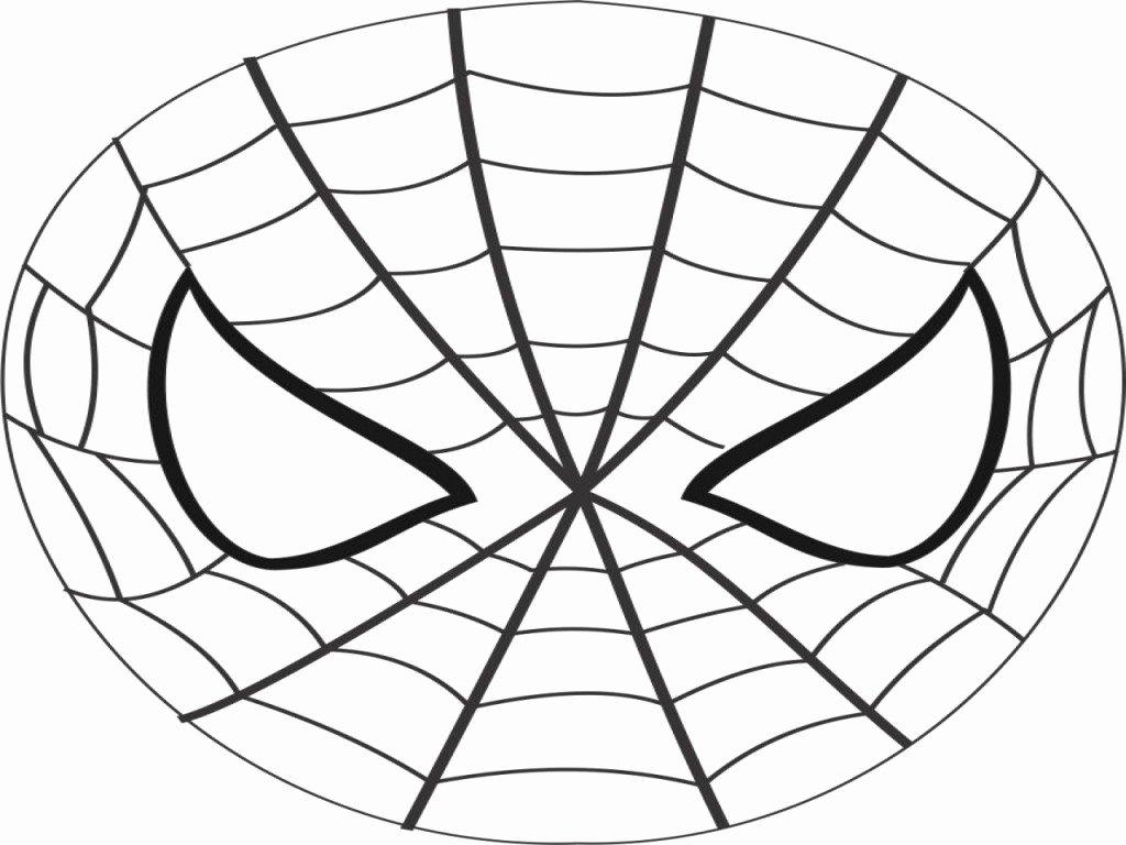 Spiderman Web Template Best Of Spiderman Mask Printable