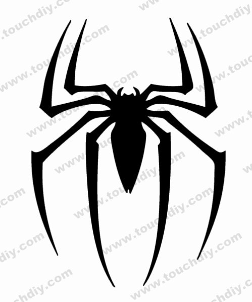 Spiderman Web Template Lovely Spiderman Logo Ready Design Template Super Heroes Logo
