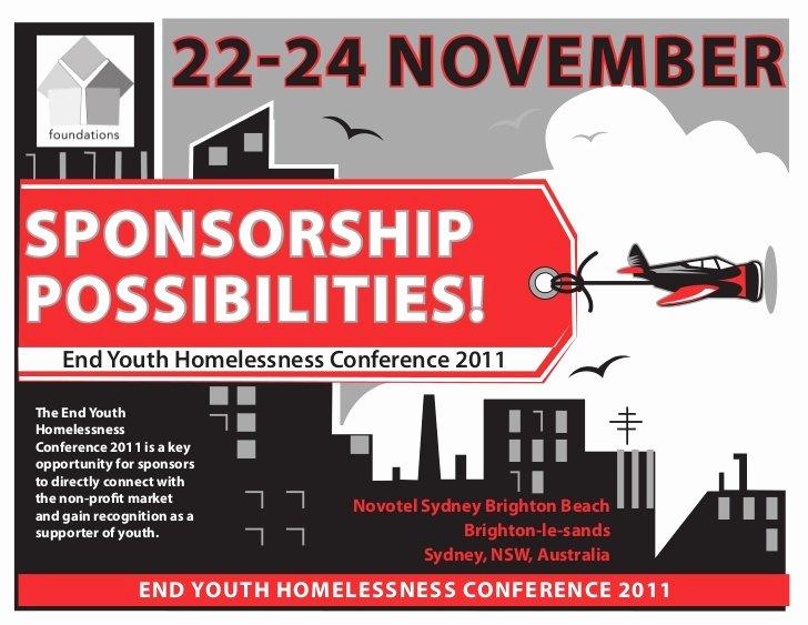 Sponsorship Packet Template Best Of 2011 Conference Sponsorship Proposal 2