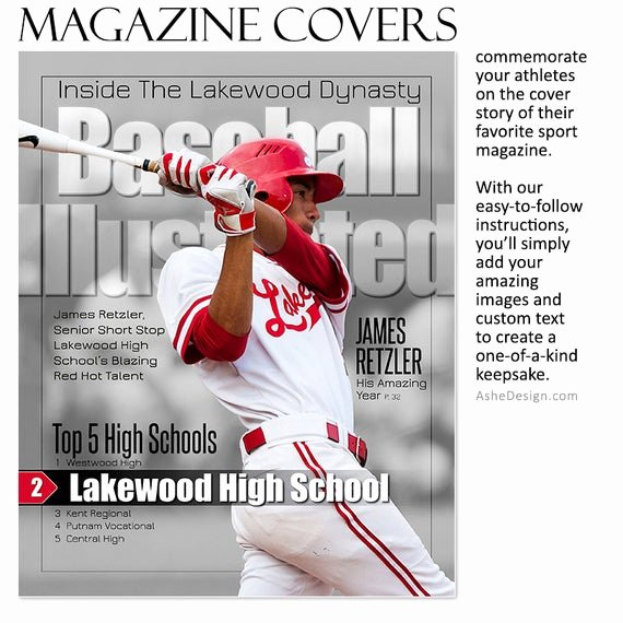 Sports Illustrated Cover Template Photoshop Inspirational Off Sale Shop Template Sports Design by ashedesign
