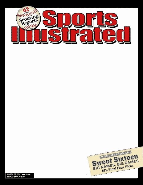 Sports Illustrated Template Awesome Magazine Cover assignment