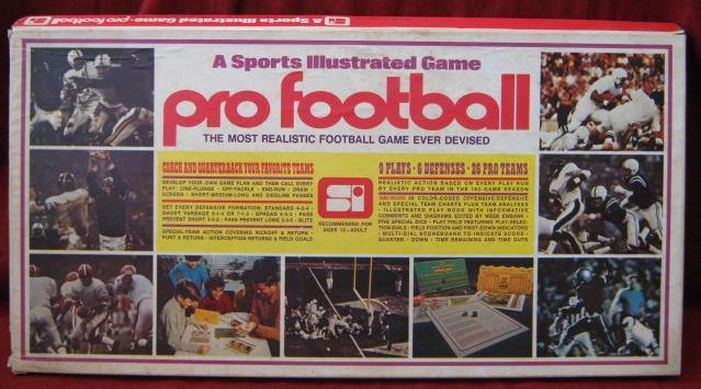 Sports Illustrated Template Elegant Sports Illustrated Paydirt Pro Football Game with 1971