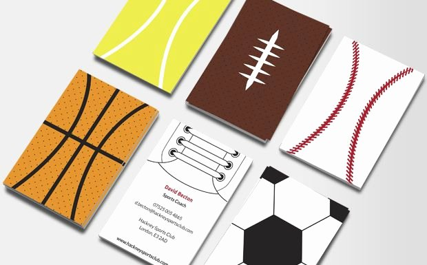 Sports Illustrated Template Fresh Sports Illustrated Business Card Pinterest