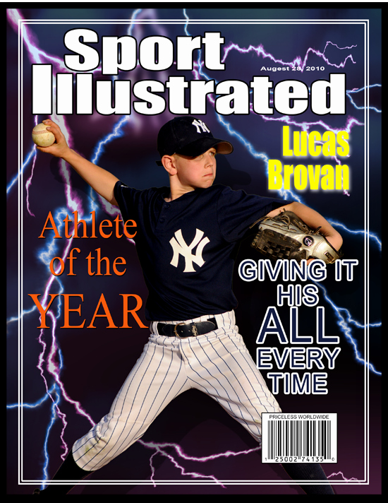 Sports Illustrated Template Lovely 10 Best Of Blank Sports Magazine Covers Sports