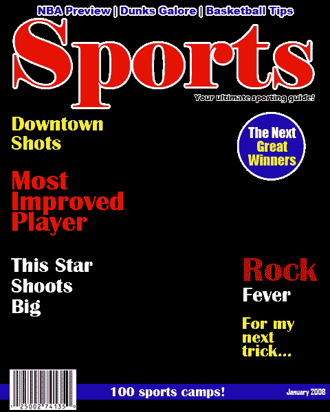 Sports Illustrated Template Luxury Blank Sports Magazine Covers Bing Images